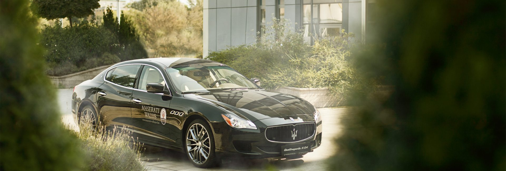 The Maserati, a bit of an editorial style