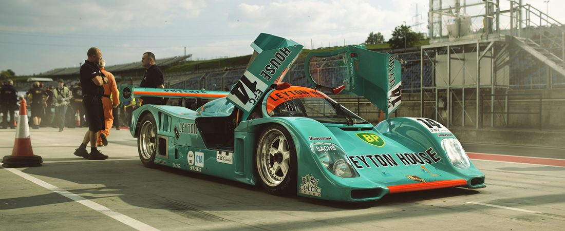 The pit-stop image – B/A