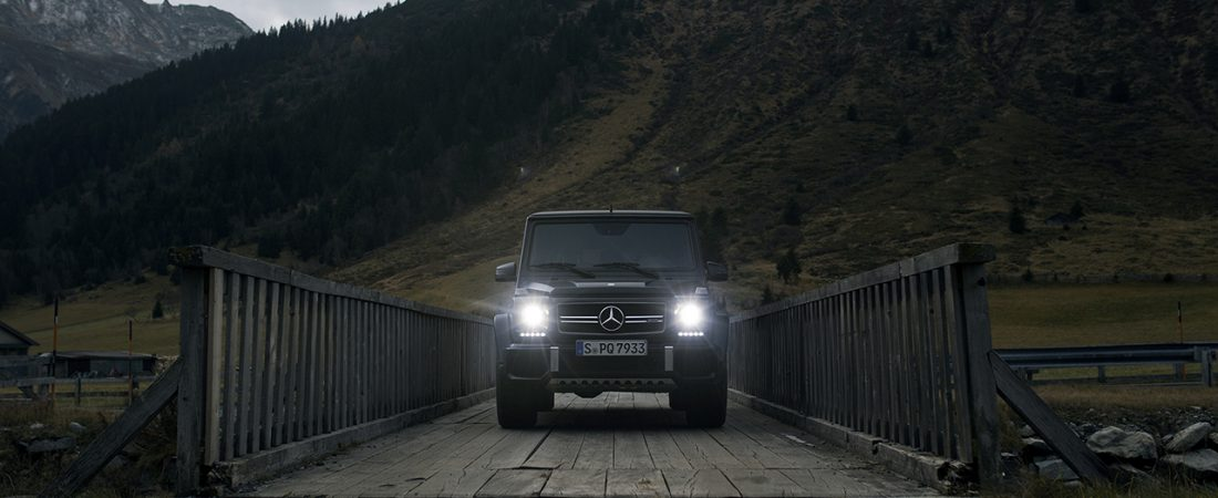 """Built Rough"" – our adventures with the G63 in Tirol"