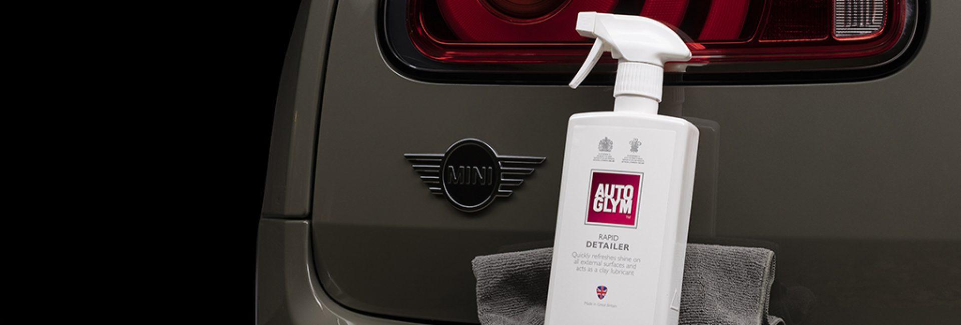 Cleaning cars in-between shooting is now easier